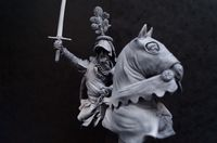 Mounted Knight Bust - SALE